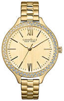 Caravelle New York Analog Nautical Collection Goldtone Stainless Steel Watch
