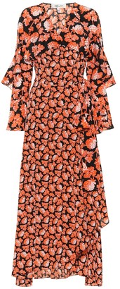Diane von Furstenberg Alice floral silk wrap dress
