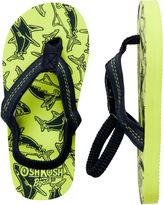 Osh Kosh Shark Flip Flops