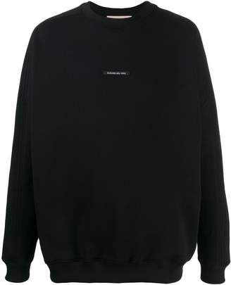Buscemi logo label sweatshirt