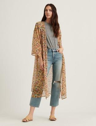 Lucky Brand Faye Floral Duster Kimono