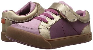 pediped Dani Flex (Toddler/Little Kid) (Dusty Rose) Girl's Shoes