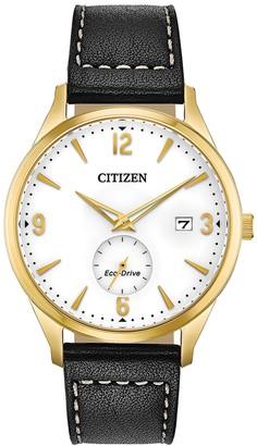 Citizen Men's Eco-Drive Simple Date Watch, 40mm