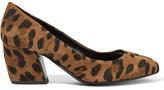 Pierre Hardy Calamity Leopard-print Suede Pumps - Leopard print