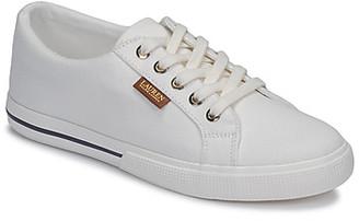 Lauren Ralph Lauren JAYCEE NE SNEAKERS VULC women's Shoes (Trainers) in White