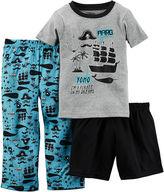 Carter's 3-pc. Pirate Pajama Set - Baby Boys 12m-24m