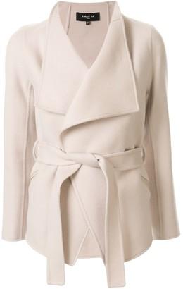 Paule Ka Hip Length Belted Jacket