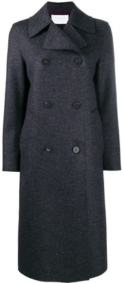 Harris Wharf London Felted Double-Breasted Coat