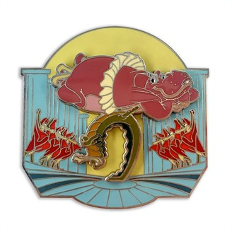Disney Hyacinth Hippo and Ben Ali-Gator Pin Fantasia 80th Anniversary Limited Release