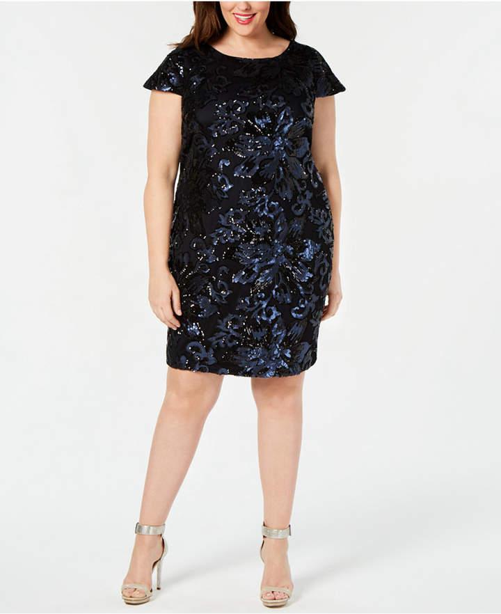 5c82f782934 Calvin Klein Plus Size Dresses - ShopStyle