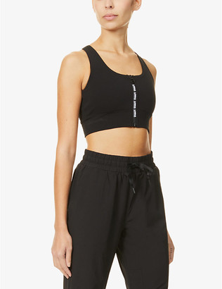 Lorna Jane Byron logo-print stretch-jersey sports bra