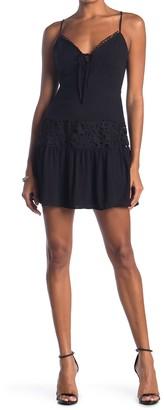 Lush Crochet Lace Cami Dress