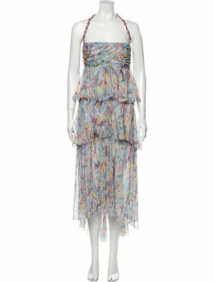 Chanel 2011 Long Dress Purple