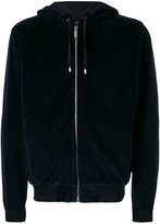 Versace logo hooded sweatshirt