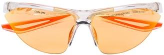 Heron Preston X Nike transparent Tailwind sunglasses