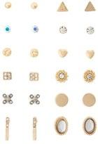 Carole Set of 12 Stud Earrings