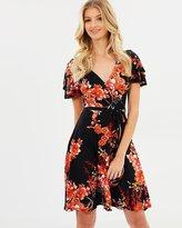 Dorothy Perkins Oriental Wrap Dress