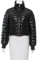 Catherine Malandrino Leather Quilted Jacket