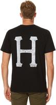 HUF Concrete Classic H Mens Tee Black