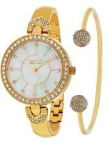 So & Co New York Women's Watch Gift Set with Bangle