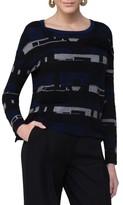Akris Punto Women's Fringe Jacquard Cotton Blend Pullover