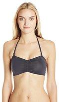 Maaji Women's Graphite Ferries Reversible Bikini Top