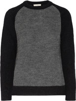 IRO Solveig two-tone knitted sweater