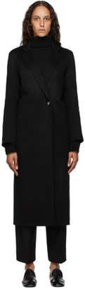 Arch The Black Silk and Cashmere Coat