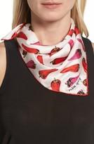 Kate Spade Women's Hot Pepper Silk Bandana