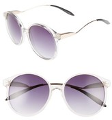Spitfire Women's Occam's Razor Sunglasses - Clear/ Gold/ Black