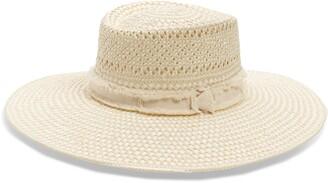 Treasure & Bond Wide Brim Straw Hat