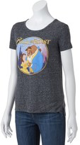 Disney Disney's Juniors' Beauty and the Beast Graphic Tee