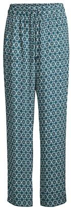 Elie Tahari Zuma Floral-Print Pants