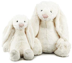 "Jellycat Bashful Bunny, Medium 15"""