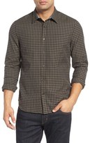 AG Jeans Knox Trim Fit Check Sport Shirt