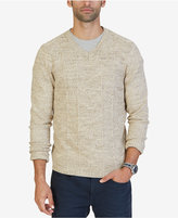 Nautica Men's Multi-Texture V-Neck Sweater, Only at Macy's