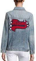 Rails Knox Miami Distressed Denim Jacket