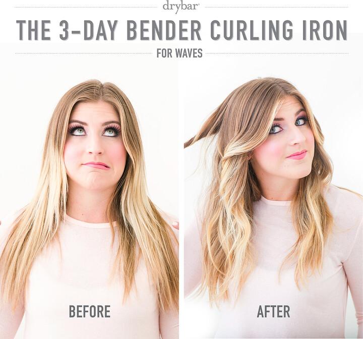 "Drybar The 3-Day Bender 1"" Barrel Digital Curling Iron"