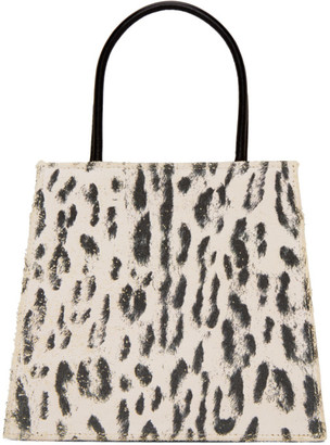 Maryam Nassir Zadeh Black and White Rosalie Bag