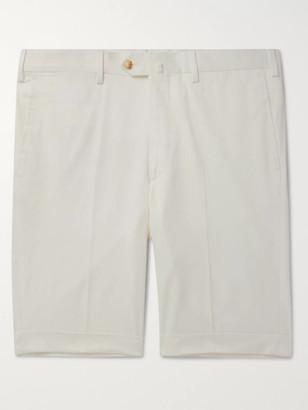 Slim-Fit Cotton-Blend Shorts