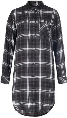 Rails Grey Cotton Dress for Women