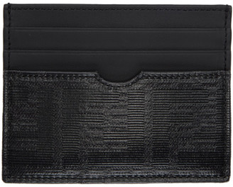 Fendi Black Forever Slim Card Holder