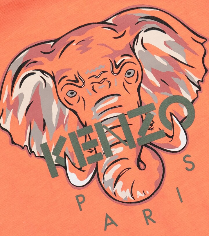 Thumbnail for your product : Kenzo Kids Logo cotton T-shirt