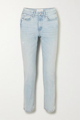 SLVRLAKE Virginia High-rise Straight-leg Jeans - Light denim