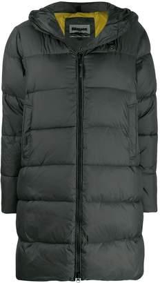 Blauer hooded puffer jacket