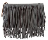 Marni Leather Fringed Clutch