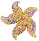 "Shoppe23 3"" Starfish Pin Brooch Hair Jewelry Austrian Crystal Beach Wedding"