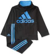 adidas 2-Pc. Graphic-Print Jacket & Pants Set, Baby Boys