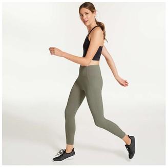 Joe Fresh Women's Rib Active Legging, Light Olive (Size XS)