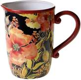 Certified International Watercolor Poppies 96-oz. Pitcher